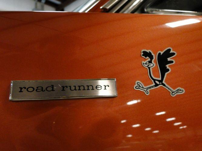 1968 Plymouth Road Runner Hemi muscle classic wallpaper