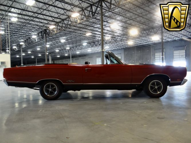 1969 Plymouth GTX Convertible muscle classic wallpaper
