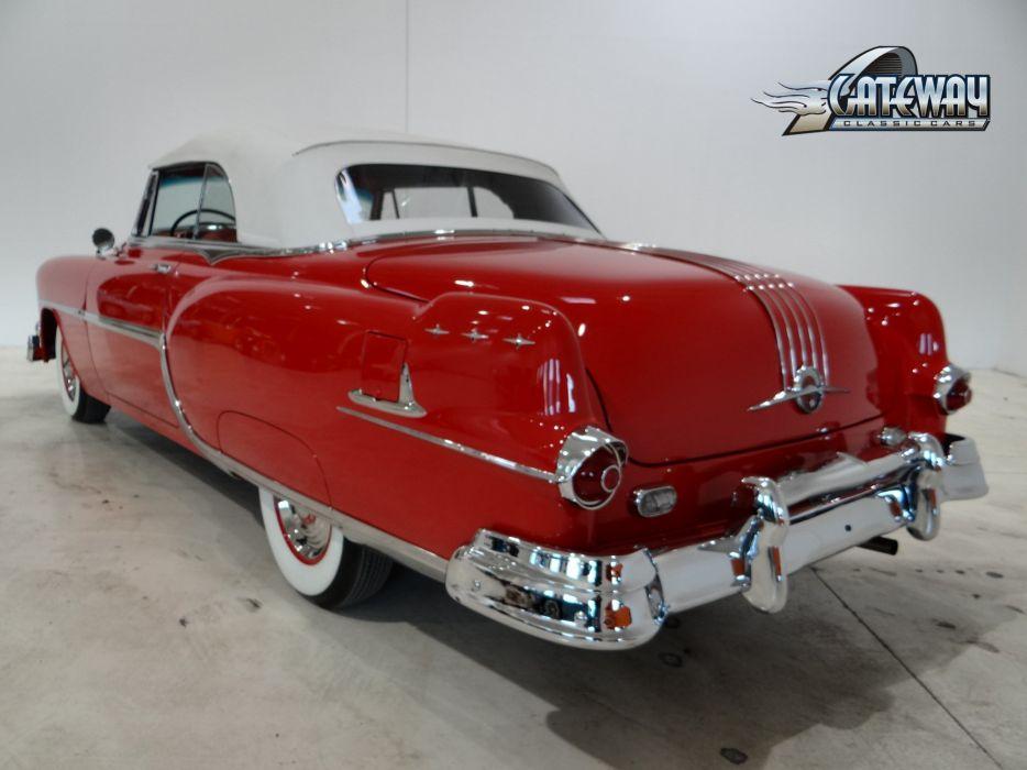 1954 Pontiac Star Chief Convertible luxury retro wallpaper