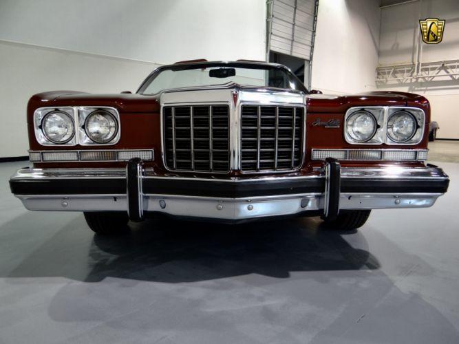 1974 Pontiac Grand Ville Convertible luxury classic wallpaper