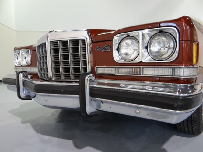 1974 Pontiac Grand Ville Convertible luxury classic wallpaper