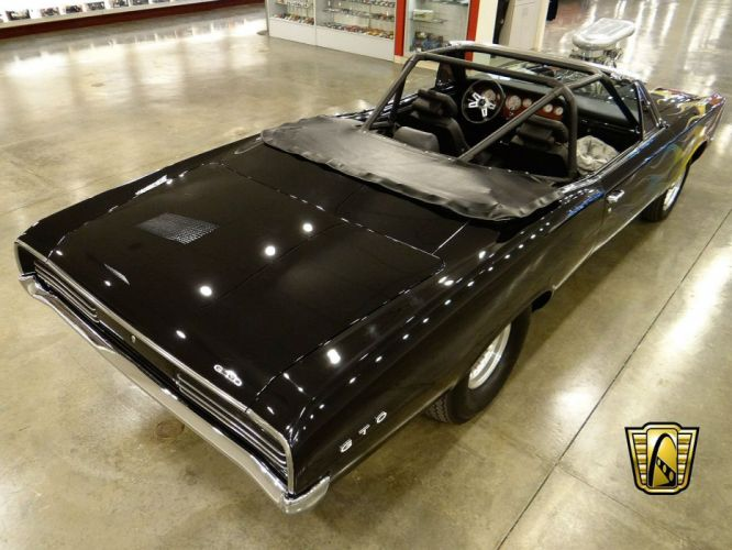 1966 Pontiac GTO Pro Street Convertible hot rod rods muscle classic wallpaper