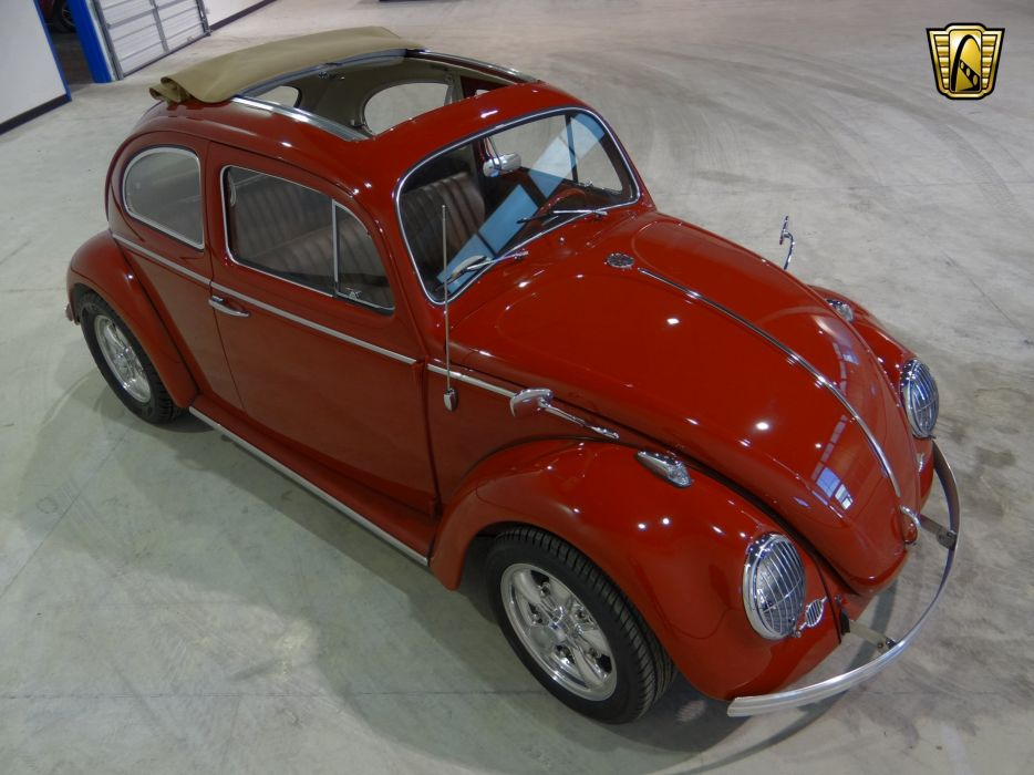 1963 Volkswagen Beetle socal classic wallpaper