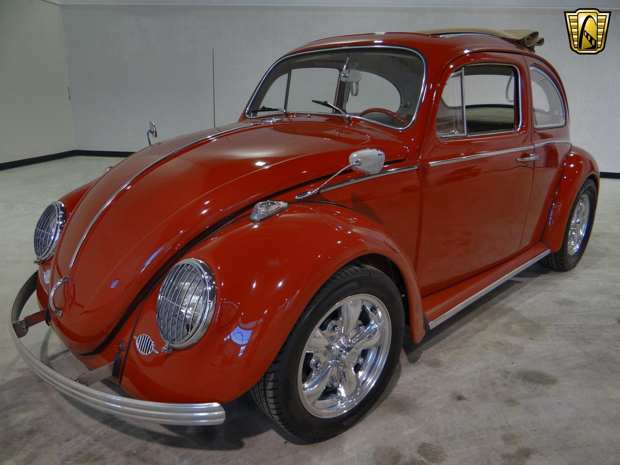 1963 volkswagen beetle socal classic wallpaper 2592x1944