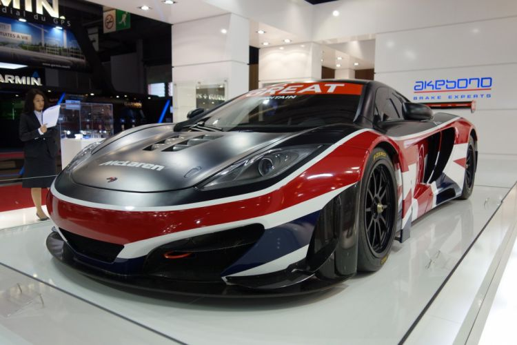 McLaren MP4 12C GT3 wallpaper
