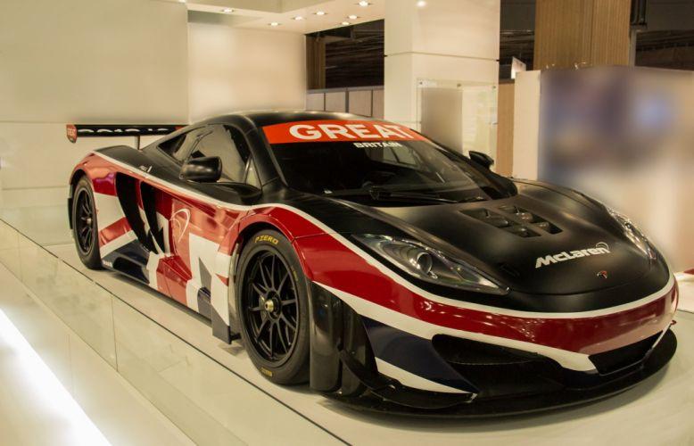 McLaren MP4 12C GT3 wallpaper