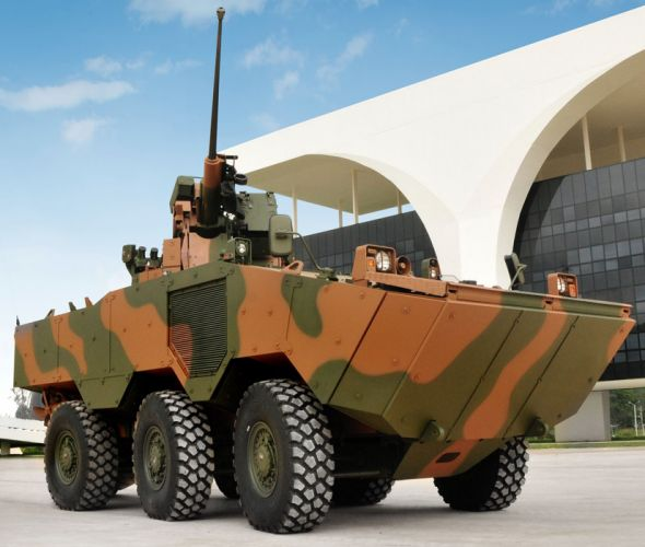 Vehicle Military Army Combat Armored Iveco Guarani Brazil (2) wallpaper