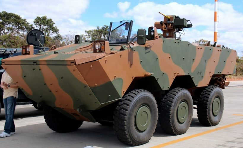 Vehicle Military Army Combat Armored Iveco Guarani Brazil (11) wallpaper