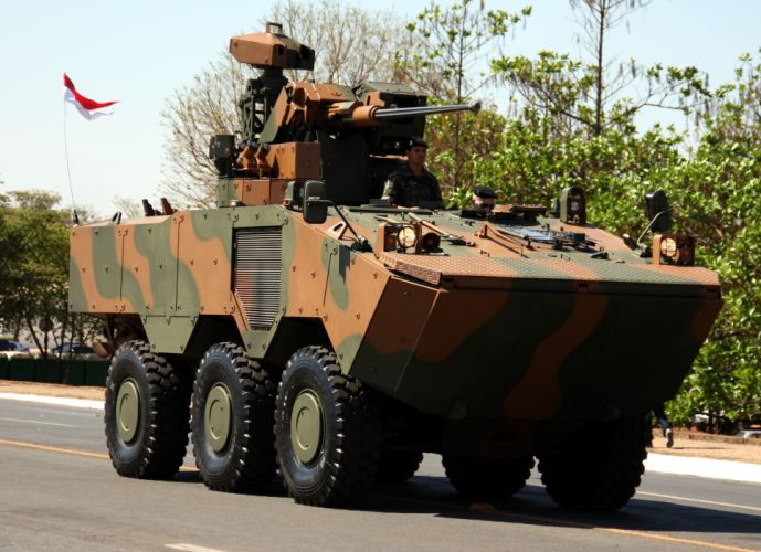 Vehicle Military Army Combat Armored Iveco Guarani Brazil (10) wallpaper
