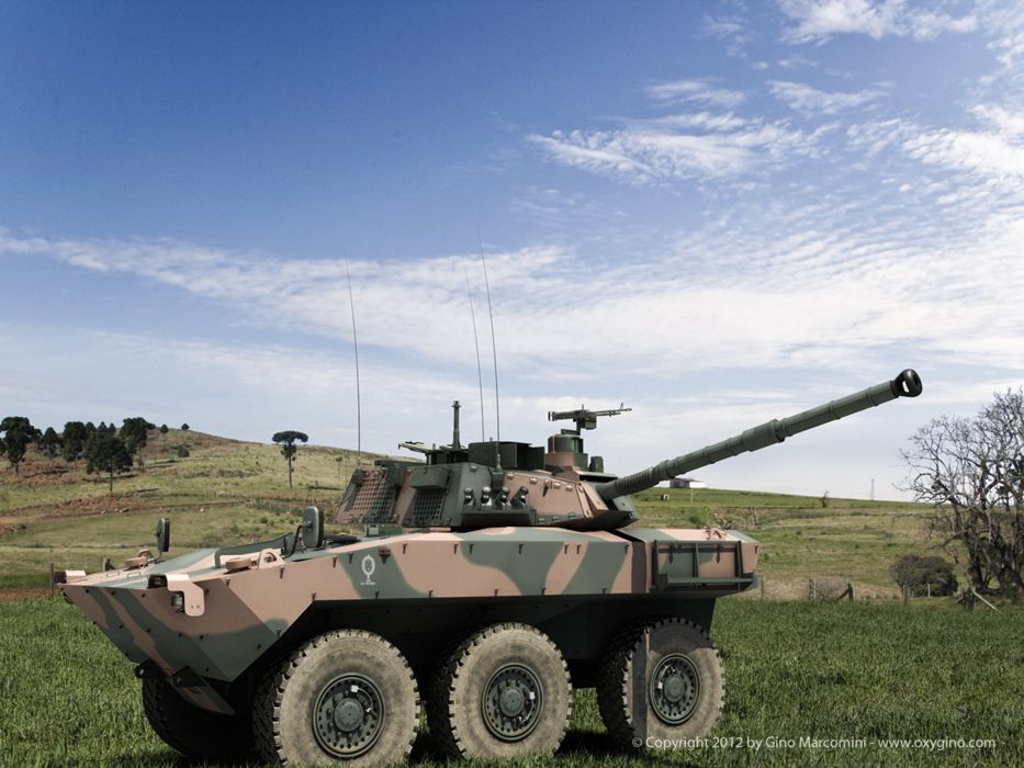 Vehicle Military Army Combat Armored Iveco Guarani Brazil (13) wallpaper