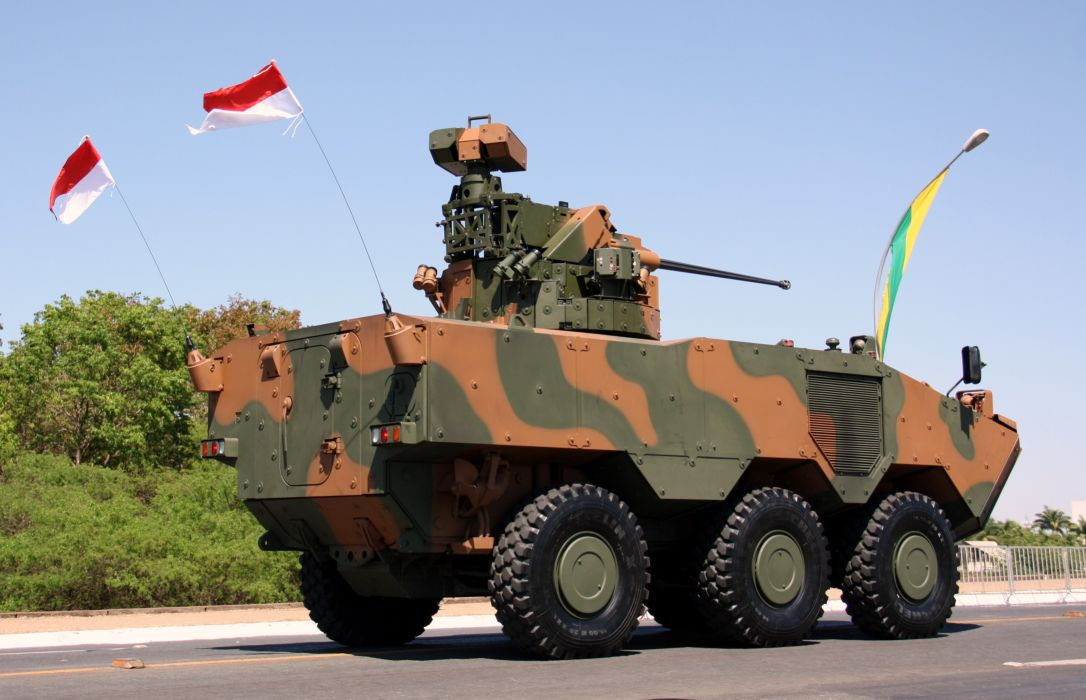 Vehicle Military Army Combat Armored Iveco Guarani Brazil (15) wallpaper