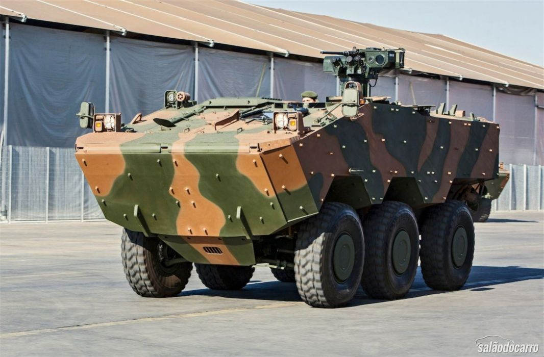 Vehicle Military Army Combat Armored Iveco Guarani Brazil (18) wallpaper