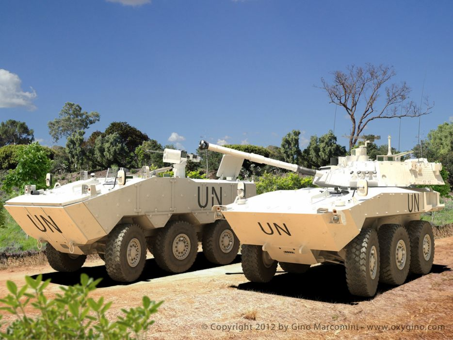 Vehicle Military Army Combat Armored Iveco Guarani Brazil 4000x3000 (14) wallpaper