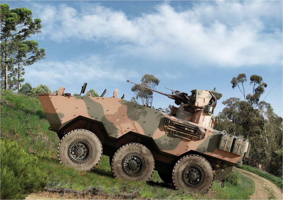 Vehicle Military Army Combat Armored Iveco Guarani Brazil (24) wallpaper