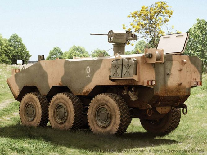 Vehicle Military Army Combat Armored Iveco Guarani Brazil 4000x3000 (18) wallpaper