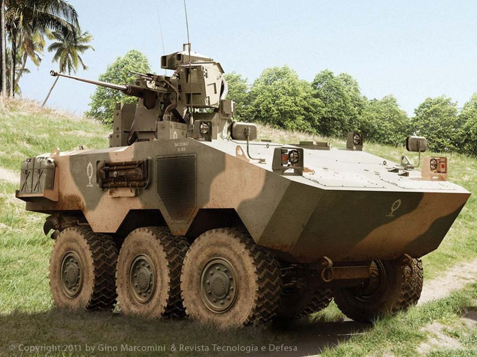 Vehicle Military Army Combat Armored Iveco Guarani Brazil 4000x3000 (17) wallpaper