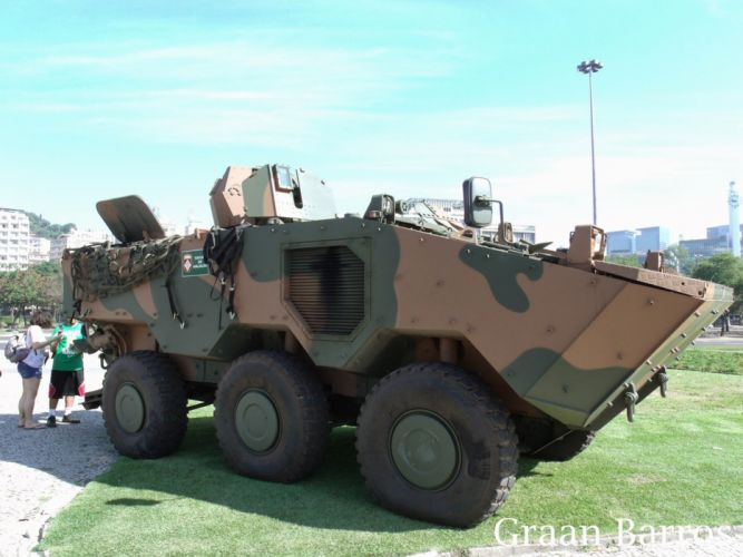 Vehicle Military Army Combat Armored Iveco Guarani Brazil 4000x3000 (20) wallpaper