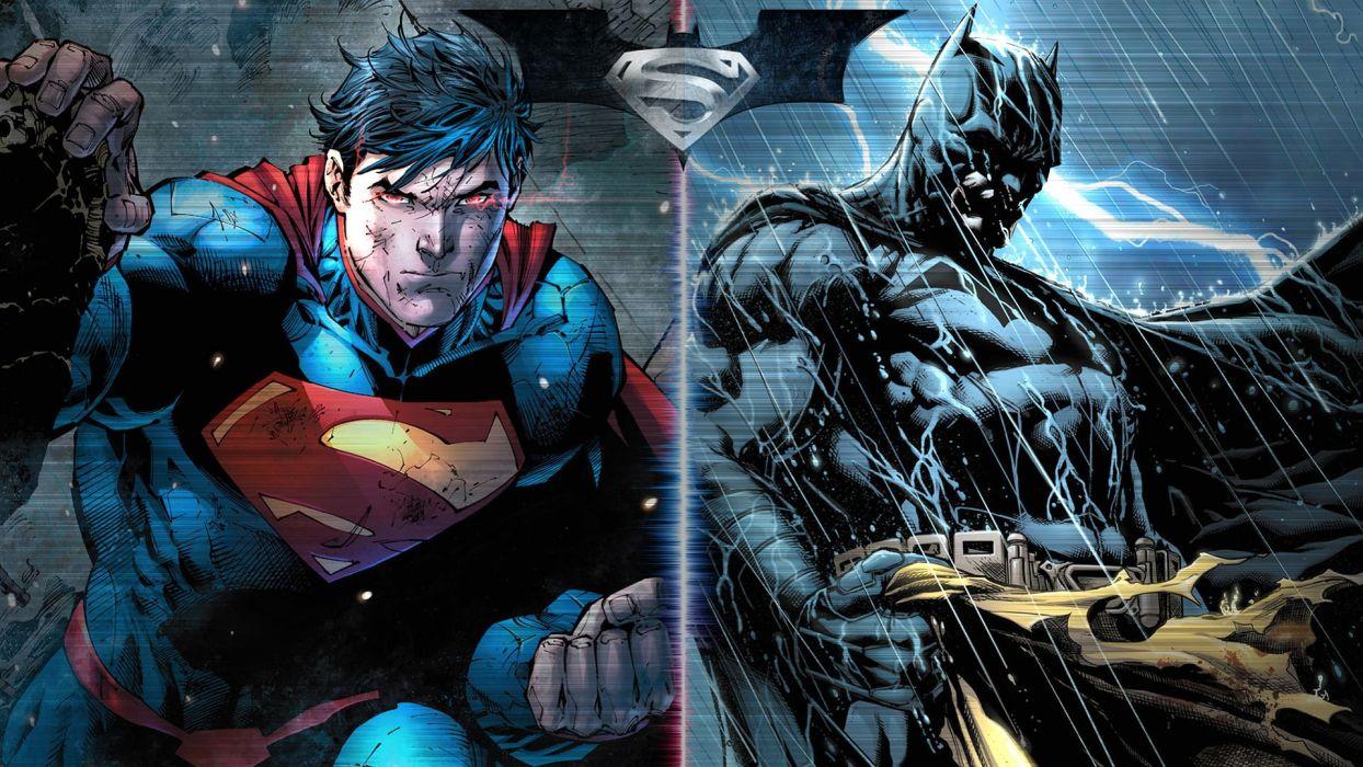 BATMAN-v-SUPERMAN adventure action dc-comics d-c superman batman dark knight superhero dawn justice (38) wallpaper