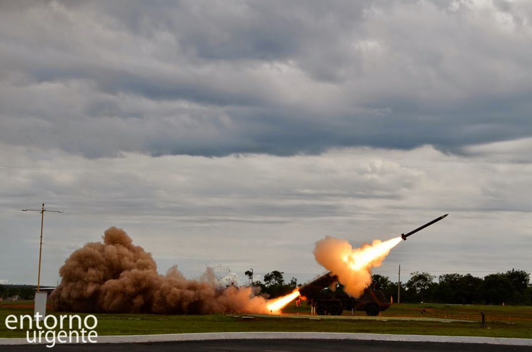 Astros-II Vehicle Military Army Combat Armored Missile Attack Brazil (20) wallpaper