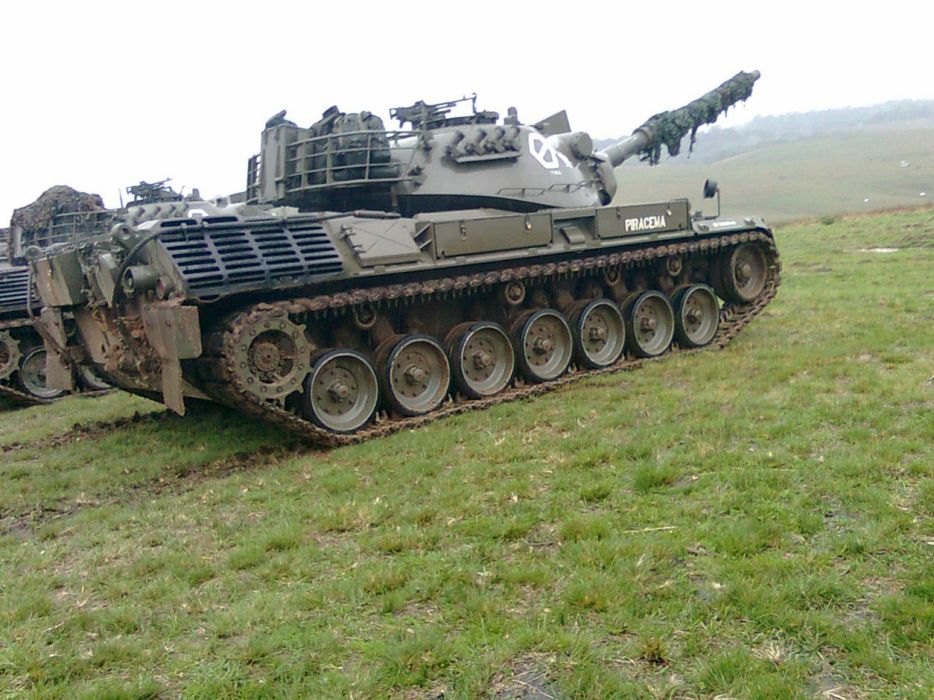 Leopard-1-A1 Tank MBT Vehicle Military Army Combat Armored 4000x3000 (2) wallpaper