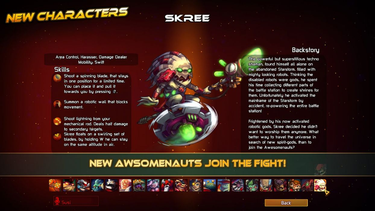 AWESOMENAUTS ASSEMBLE action strategy platform 2D-MOBA online mmo (11) wallpaper