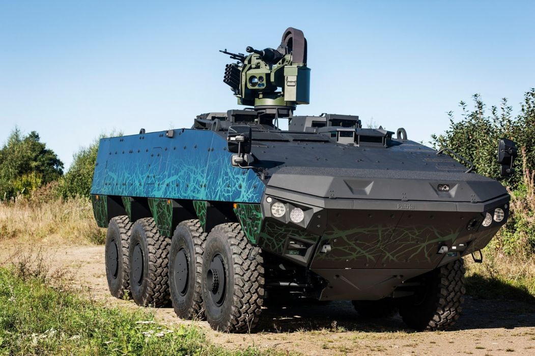 Patria Vehicle Military Army Combat Armored Brazil 4000x2665 (2) wallpaper