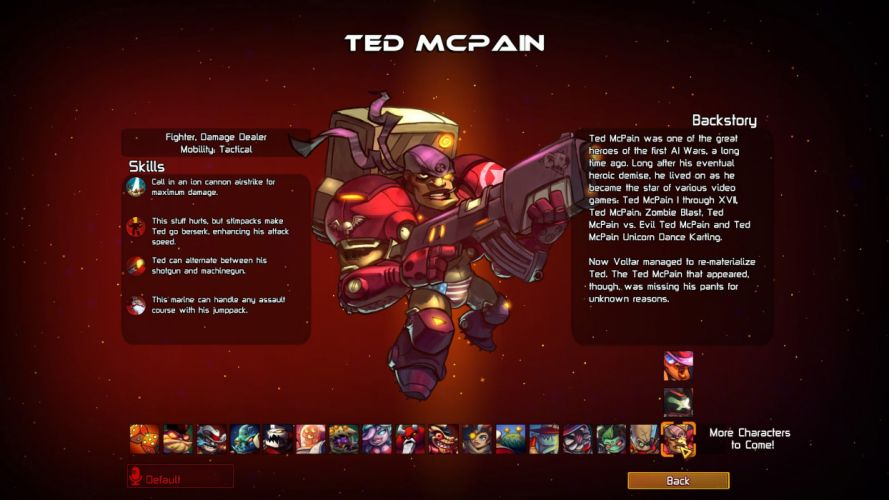 AWESOMENAUTS ASSEMBLE action strategy platform 2D-MOBA online mmo (28) wallpaper