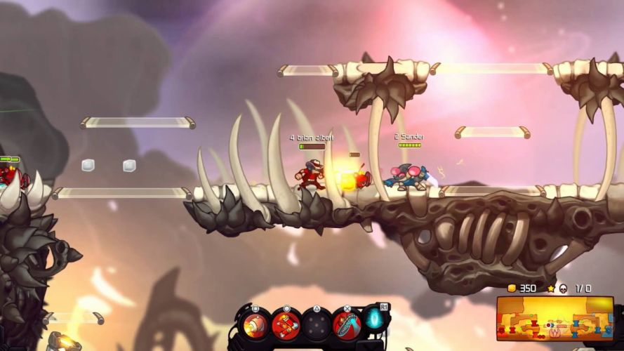 AWESOMENAUTS ASSEMBLE action strategy platform 2D-MOBA online mmo (30) wallpaper
