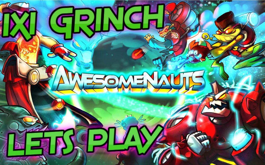 AWESOMENAUTS ASSEMBLE action strategy platform 2D-MOBA online mmo (32) wallpaper