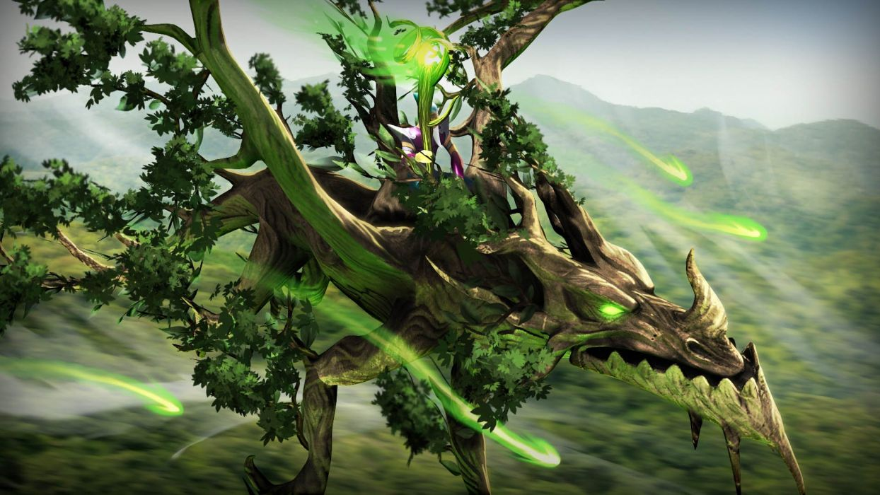 DRAGONS-AND-TITANS moba mmo online rpg fantasy fighting dragons titans dragon wallpaper