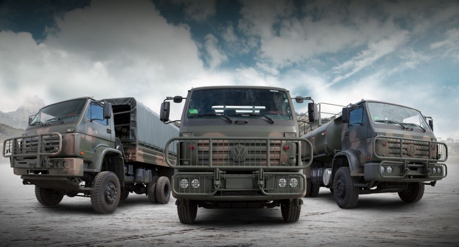 Vehicle Military Army Combat Armored MAN Volkswagem Truck wallpaper