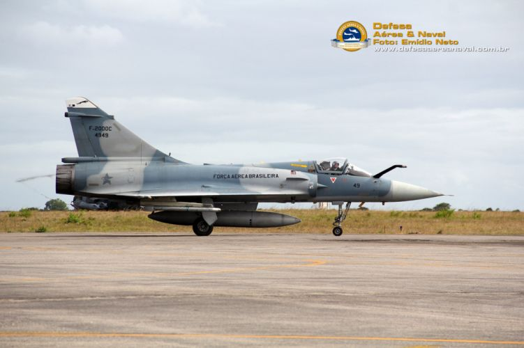 FAB Jet Fighter Aircraft Vehicle Military Army Attack Brazil Dassault Mirage 2000C wallpaper
