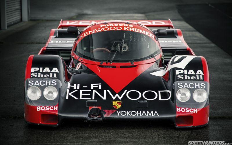 Race Car Classic Vehicle Racing Germany Le-Mans LMP1 Porsche Kremer-962C 4000x2500 (1) wallpaper