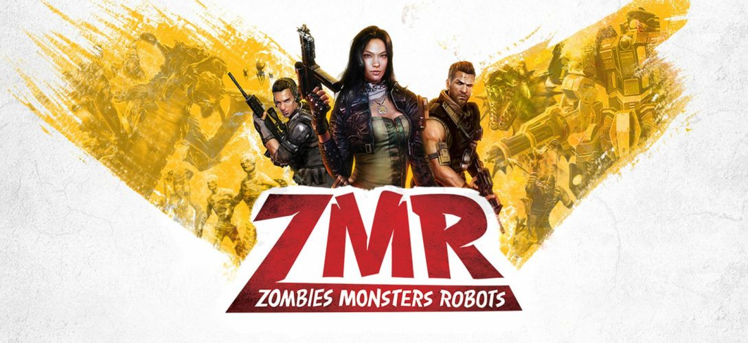 ZOMBIES MONSTERS ROBOTS shooter action sci-fi zmr fighting horror (18) wallpaper