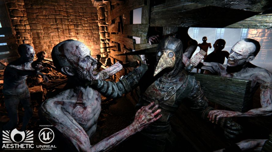 DEAD CRUSADE medieval co-op horror action fantasy wallpaper