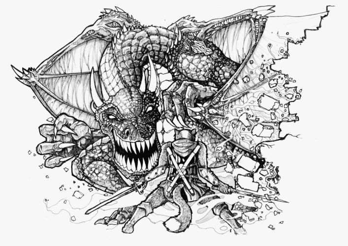 DUNGEONS-AND-DRAGONS fantasy adventure board rpg dungeons dragons (37) wallpaper
