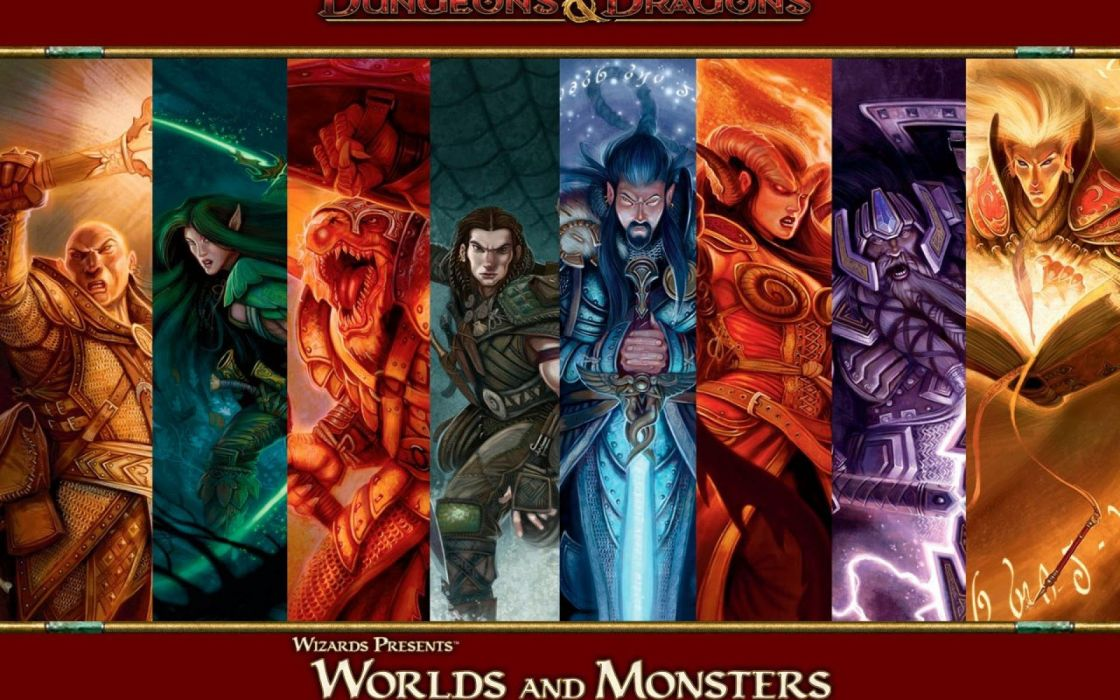 DUNGEONS-AND-DRAGONS fantasy adventure board rpg dungeons dragons (60) wallpaper