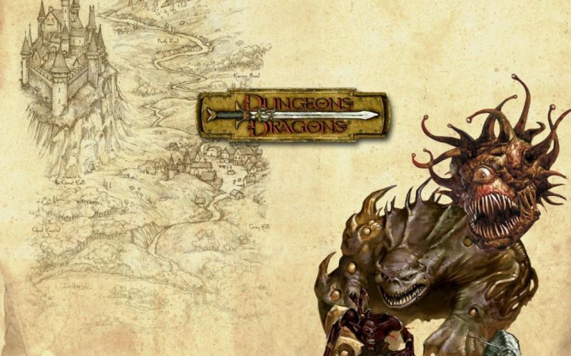 DUNGEONS-AND-DRAGONS fantasy adventure board rpg dungeons dragons (59) wallpaper