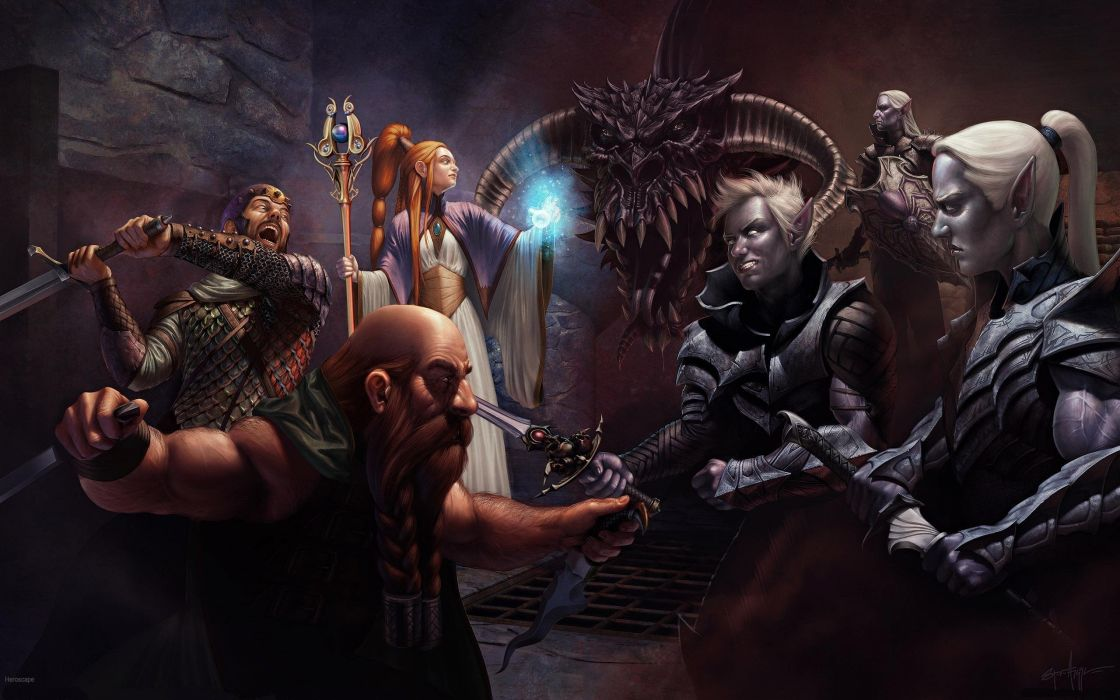 DUNGEONS-AND-DRAGONS fantasy adventure board rpg dungeons dragons (77) wallpaper