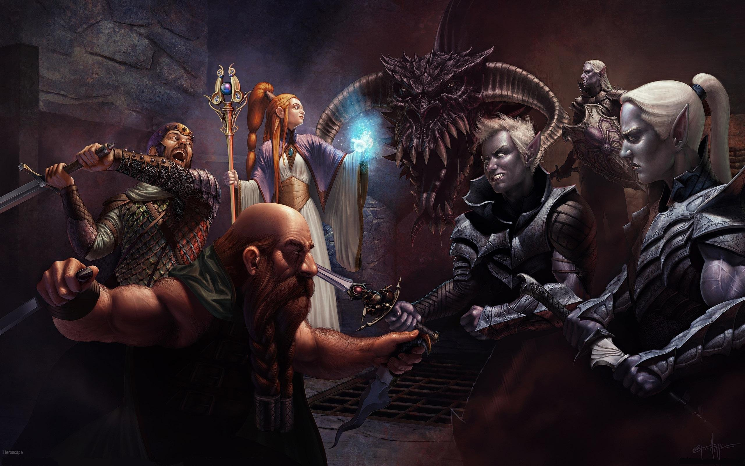 DUNGEONS-AND-DRAGONS fantasy adventure board rpg dungeons ...