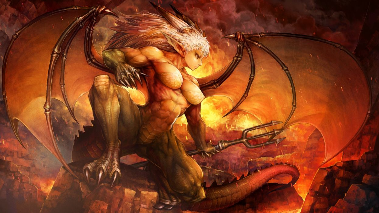 DRAGONS-CROWN anime action rpg fantasy family medieval fighting dragons crown (2) wallpaper