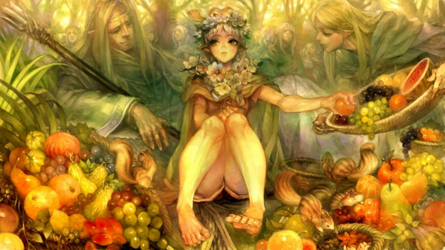 DRAGONS-CROWN anime action rpg fantasy family medieval fighting dragons crown (8) wallpaper