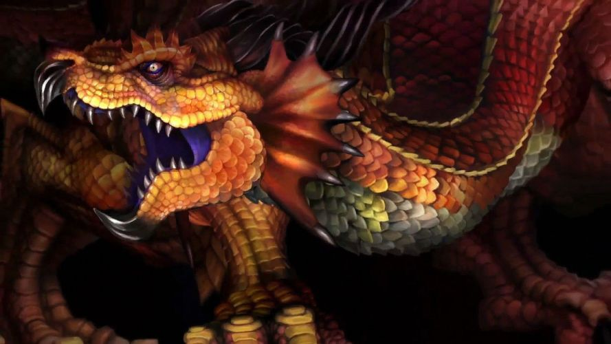 DRAGONS-CROWN anime action rpg fantasy family medieval fighting dragons crown (14) wallpaper