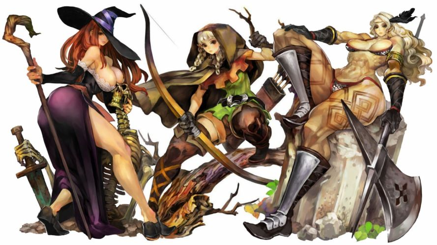 DRAGONS-CROWN anime action rpg fantasy family medieval fighting dragons crown (18) wallpaper