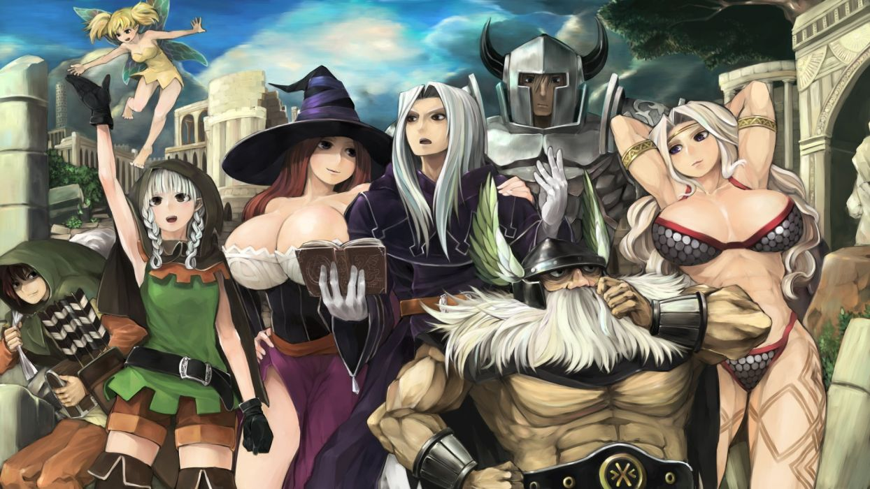 Dragons Crown Anime Action Rpg Fantasy Family Medieval Fighting