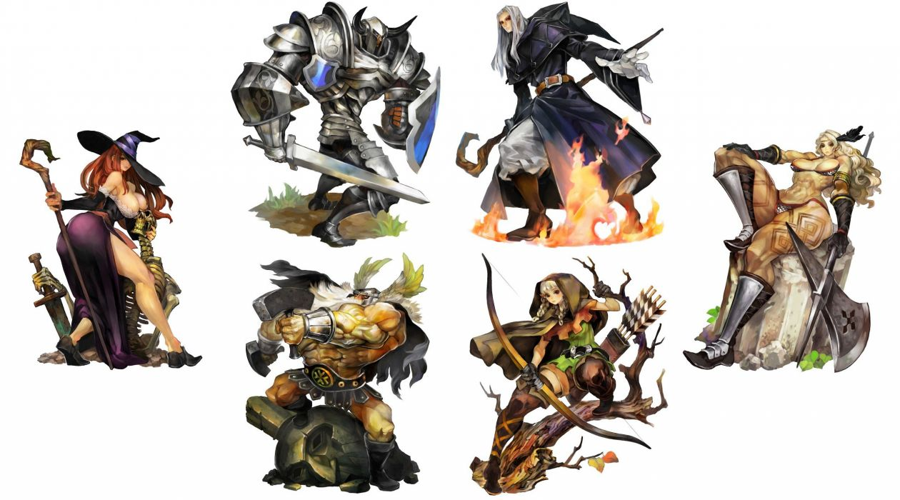 DRAGONS-CROWN anime action rpg fantasy family medieval fighting dragons crown (22) wallpaper