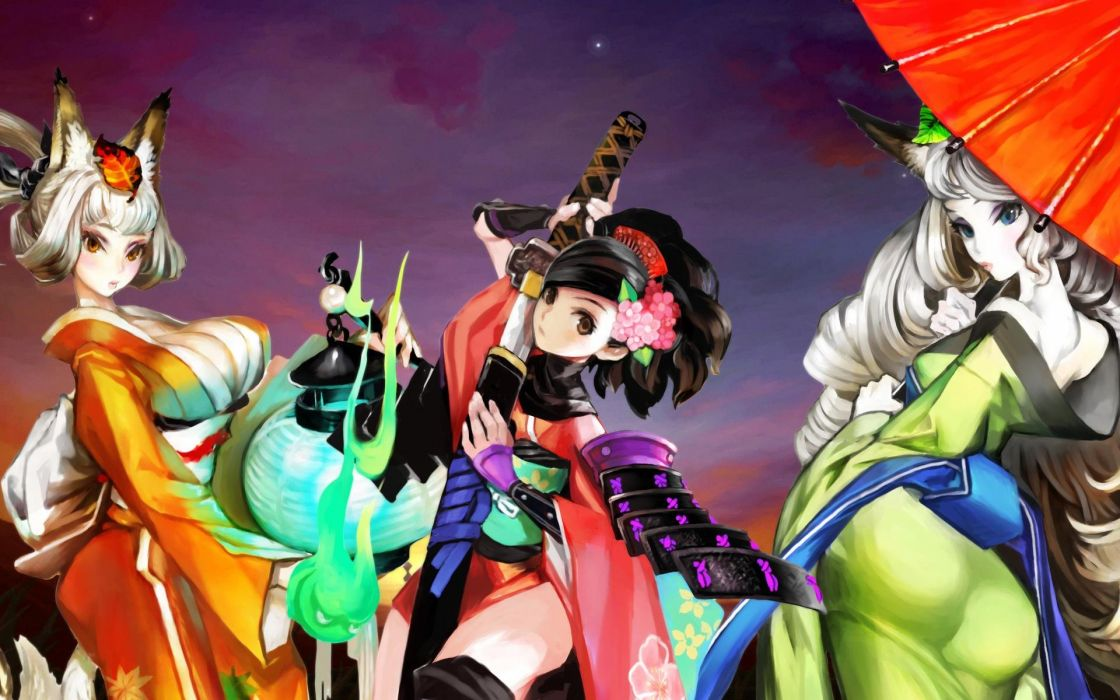 DRAGONS-CROWN anime action rpg fantasy family medieval fighting dragons crown (26) wallpaper