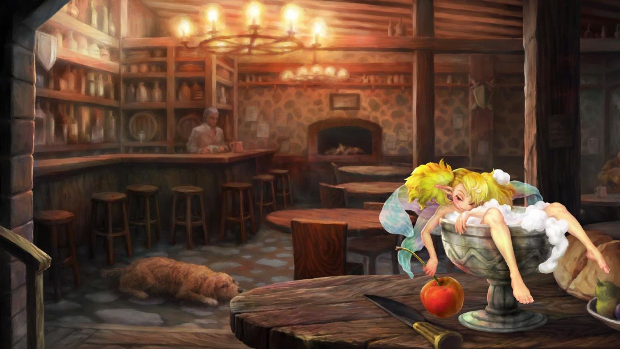 DRAGONS-CROWN anime action rpg fantasy family medieval fighting dragons crown (27) wallpaper
