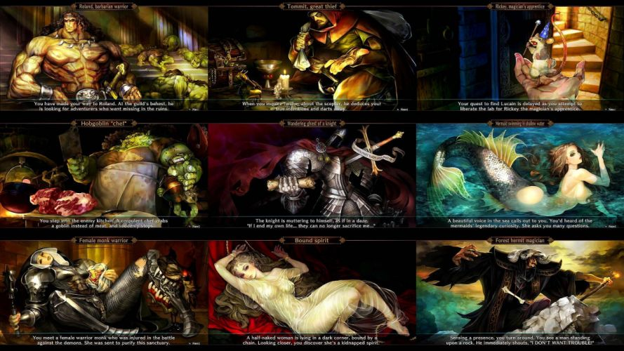 DRAGONS-CROWN anime action rpg fantasy family medieval fighting dragons crown (30) wallpaper