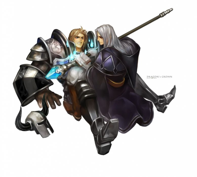 DRAGONS-CROWN anime action rpg fantasy family medieval fighting dragons crown (43) wallpaper